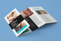 4 Panel Accordion Fold Brochure Template Example