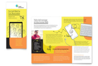 8.5×11 Brochure Template Example