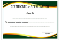 Certificate of Appreciation Retirement Template FREE 2