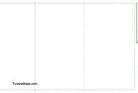 Z Fold Brochure Template FREE 8.5 x 14 inch