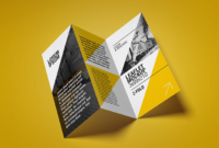 Z Fold Brochure Template Sample