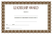 Certificate Leadership and Management Free Printable 1