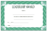 Certificate Leadership and Management Free Printable 2