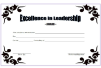 Educational Leadership Graduate Certificate Free Printable 3