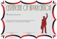 Employee Appreciation Certificate Template Free 6
