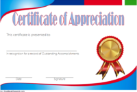 Employee Appreciation Certificate Template Free 7
