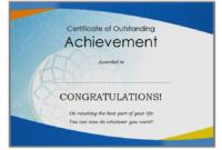 Free Retirement Certificate of Appreciation Template 5