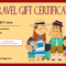 17+ Travel Gift Certificate Template Ideas FREE
