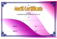 Certificate of Merit High School FREE 3