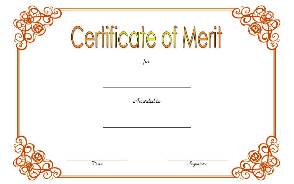 certificate of merit award, certificate of merit for students, certificate of merit high school, district award of merit certificate template, merit award certificate template, award of merit certificate templates