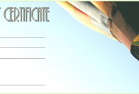 Free Certificate for Travel Agent Printable 4