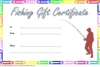 Free Fishing Charter Gift Certificate 1