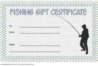Free Fishing Gift Certificate Template 1