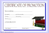 Free Sunday School Promotion Certificate Printable 2