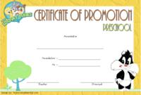 Free Sunday School Promotion Certificate Printable 3