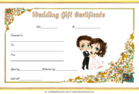 Free Wedding Gift Voucher Template 1
