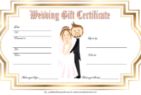 Free Wedding Gift Voucher Template 5