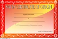 NAFTA Certificate of Origin Template 2018 FREE 2