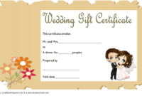 Wedding Gift Restaurant Voucher FREE 2