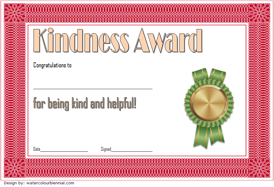 certificate of kindness, act of kindness award certificate, random acts of kindness certificate template, certificate for kindness, kindness certificate elementary, kindness challenge certificate