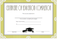FREE CEU Certificate of Completion Template 1
