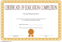 FREE CEU Certificate of Completion Template 2