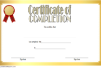 FREE Computer Training Course Certificate Template 1