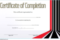 FREE Computer Training Course Certificate Template 2
