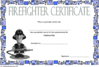 FREE Fire Department Certificate Template 2