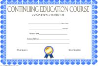 FREE Social Work CEU Certificate Template 2