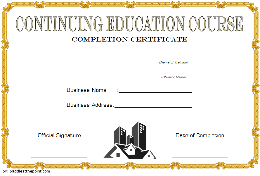 ceu certificate template, continuing education certificate template, certificate of continuing education template, social work ceu certificate template, ceu certificate of completion template, ceu certificate of attendance template