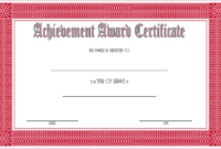 Years of Service Certificate Template FREE Printable 3