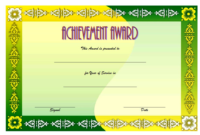 Years of Service Certificate Template FREE Printable 4