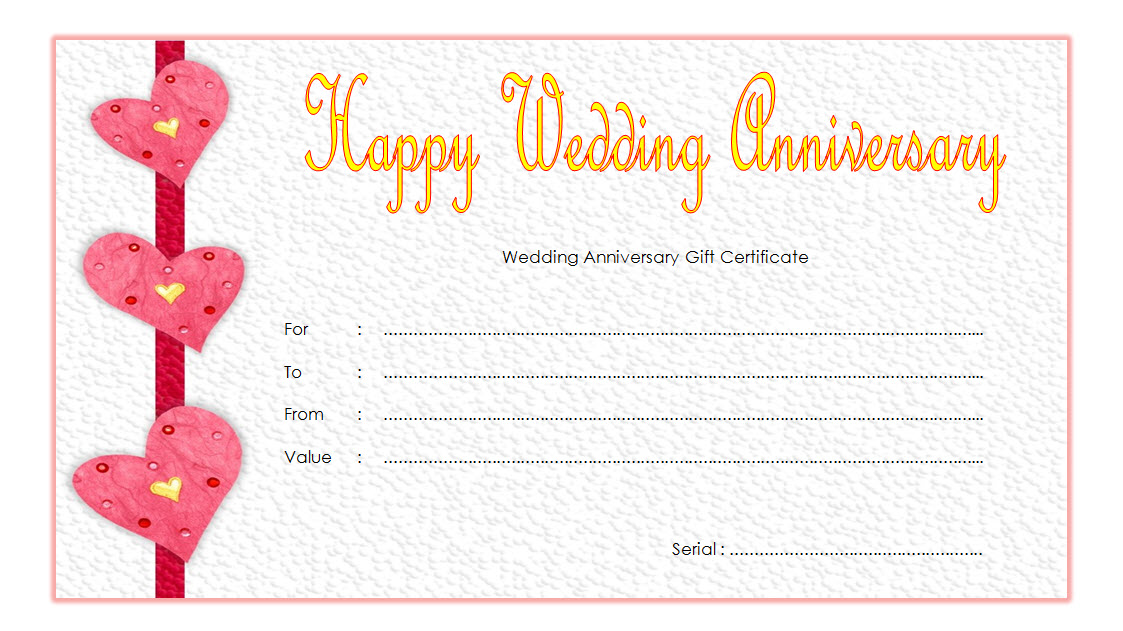happy anniversary gift certificate template, anniversary gift certificate template free, anniversary gift voucher template, golden wedding anniversary gift certificate template, 25th wedding anniversary gift certificate template, free printable wedding anniversary certificates