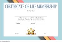 Editable Life Membership Certificate Template FREE 1