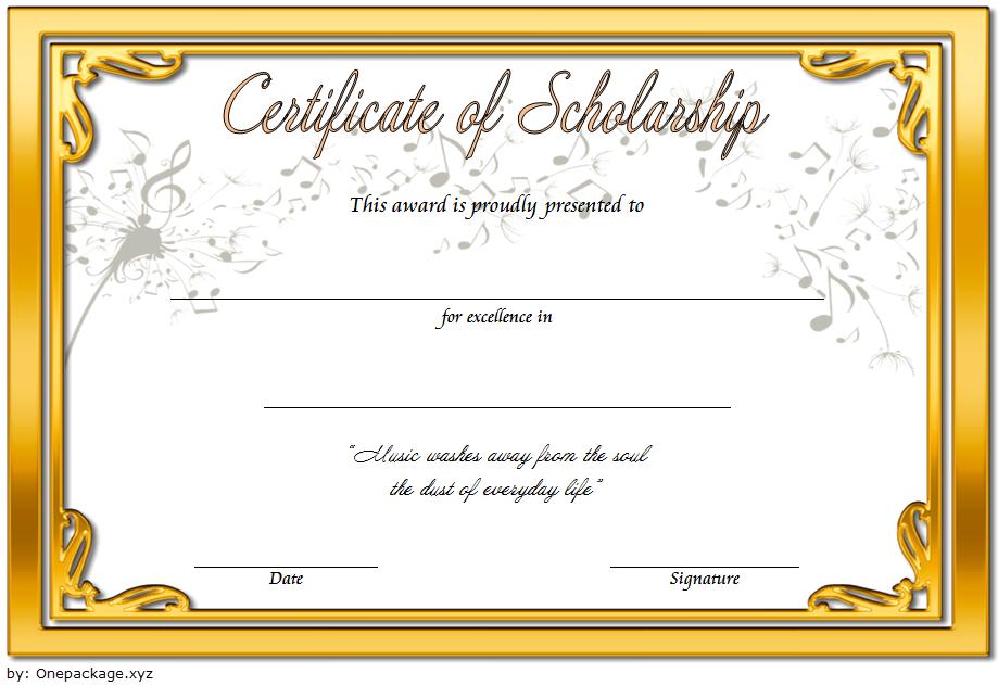 certificate of scholarship, scholarship certificate template, scholarship award certificate template, music scholarship certificate template, college scholarship certificate template, high school scholarship certificate template, memorial scholarship certificate template