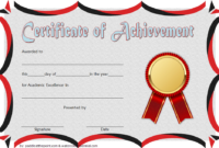 FREE Academic Achievement Certificate Template 3