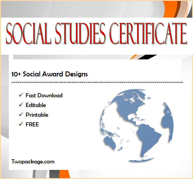 social studies certificate template, social studies teaching certificate, social studies achievement certificate, social studies fair certificate templates, certificate for social studies project, environmental and social studies junior certificate