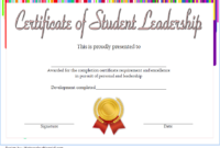 Educational Leadership Graduate Certificate Template FREE 3