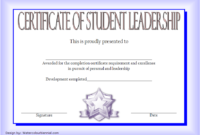 Educational Leadership Graduate Certificate Template FREE 4