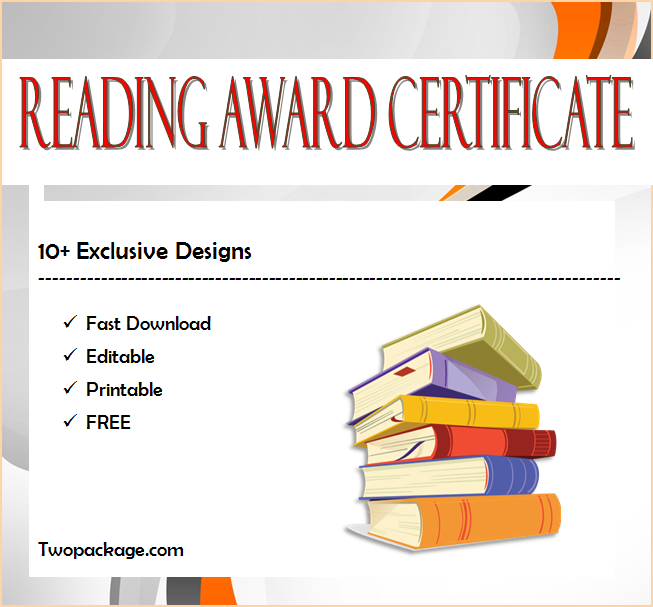 free reading award certificate template, reading award certificate template, editable reading award certificates, reading award certificate free download, book reading award certificates, most improved reader award certificate, reading certificates ks2