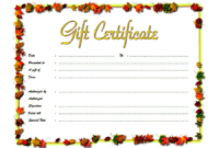 Beauty Salon Gift Certificate Template Free 03