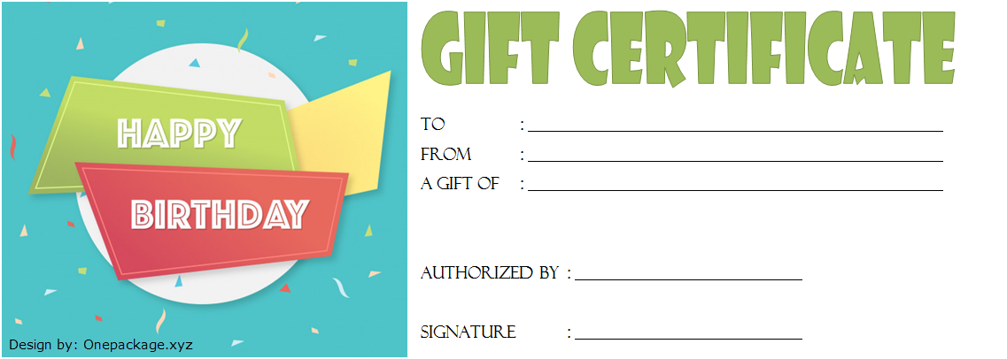 Birthday Gift Certificate Template Free Printable 2020; happy birthday gift certificate template, birthday gift certificate template microsoft word, birthday gift voucher printable, happy birthday gift voucher