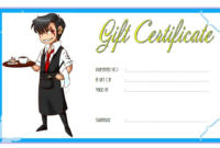 Free Chicago Restaurant Gift Certificate Template