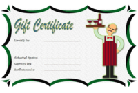Free Mexican Restaurant Gift Certificate Template 1