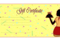 Free Mexican Restaurant Gift Certificate Template 3