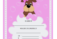 Free Puppy Birth Certificate Template Microsoft Word