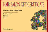 hair salon gift certificate template free printable, printable hair salon gift certificate template free, free hair salon gift voucher template, haircut gift certificate template free, free haircut gift certificate template