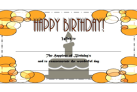 Happy Birthday Gift Voucher Printable Free 1