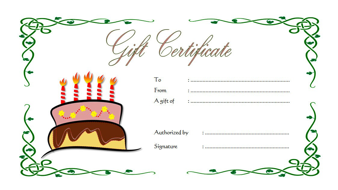 Happy Birthday Gift Voucher Printable Free 3; happy birthday gift certificate template, birthday gift certificate template microsoft word, happy birthday gift voucher, birthday gift certificate template free download